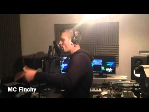 MC Finchy studio session