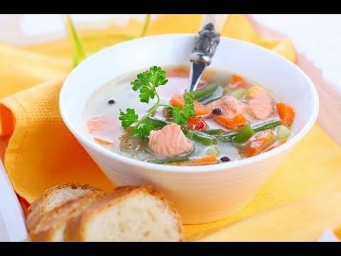 Рыбный суп из консервов кулинарный рецепт