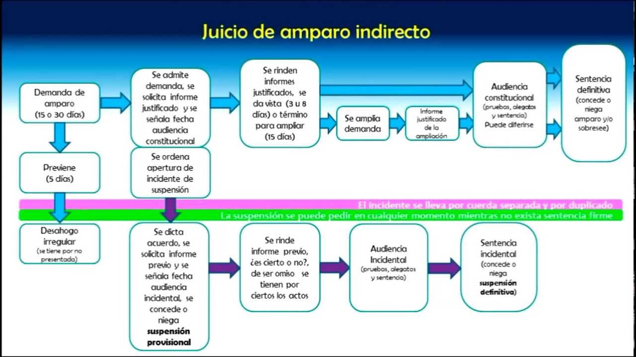 Procedimiento del juicio de amparo indirecto youtube ccuart Image collections