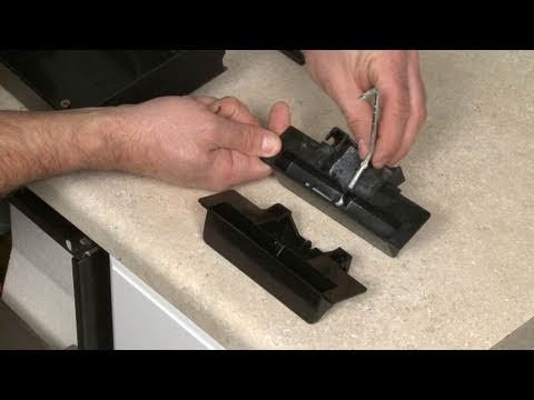 Kitchenaid Dishwasher Replace Door Latch Handle 9743903 Youtube