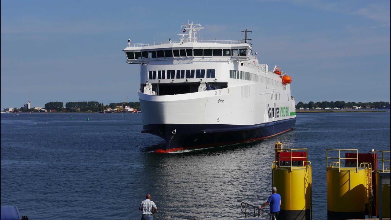scandlines hybrid ferry berlin l uft in rostock ein youtube. Black Bedroom Furniture Sets. Home Design Ideas