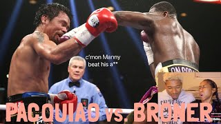 PACQUIAO vs. BRONER HIGHLIGHTS REACTION