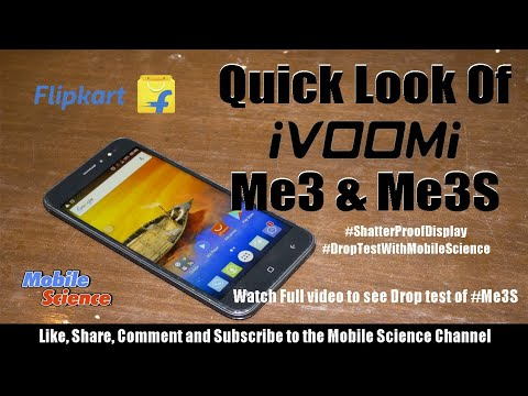 Quick Look, Drop Test & Opinion of iVOOMi Me 3 & Me 3s