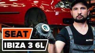 Cómo cambiar los puntal amortiguador delantero en SEAT IBIZA 3 6L [VÍDEO TUTORIAL DE AUTODOC]