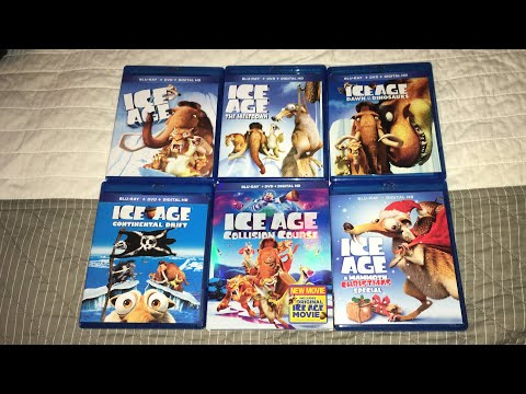 Ice Age The Complete Collection Blu-Ray Unboxing