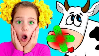 Boo Boo Song  | Songs for Kids by Baa Bee | Best English Songs for Children