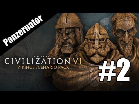 Canute Rockne? Vikings, Traders, and Raiders! Civilization VI episode 2  