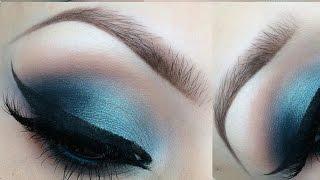 Blue eyeshadow turtorial Thumbnail