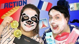 Beauté cassée SPÉCIALE FRANCE : Test des produits du magasin Action    2FILLESORDINAIRES