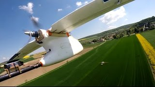 Mid-air Collision of FPV RC Planes