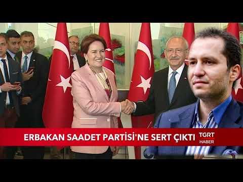 Fatih Erbakan Saadet Partisi'ne Sert Çıktı
