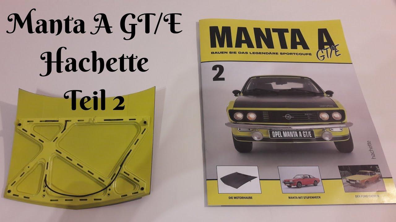 Manta A GT//E  Bauteile  Nr 35  von  HACHETTE