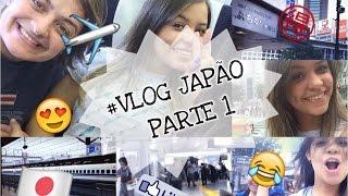 VLOG JAPÃO #1 - Aeroporto, Tokyo, Forever 21, H&M...