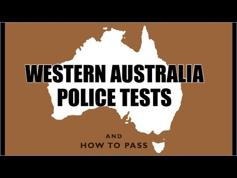 Western Australia Police Tests (WA) - How to Pass