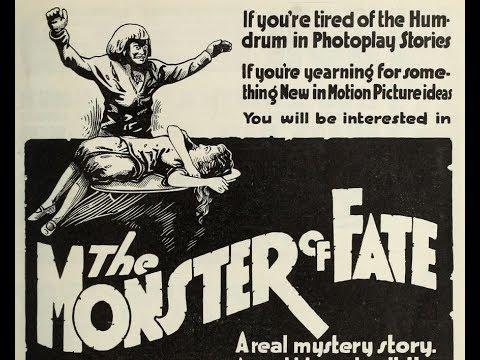 Trade ads for silent horror films