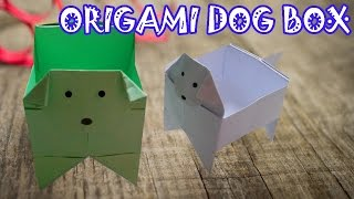 Origami Dog Box - Origami Easy