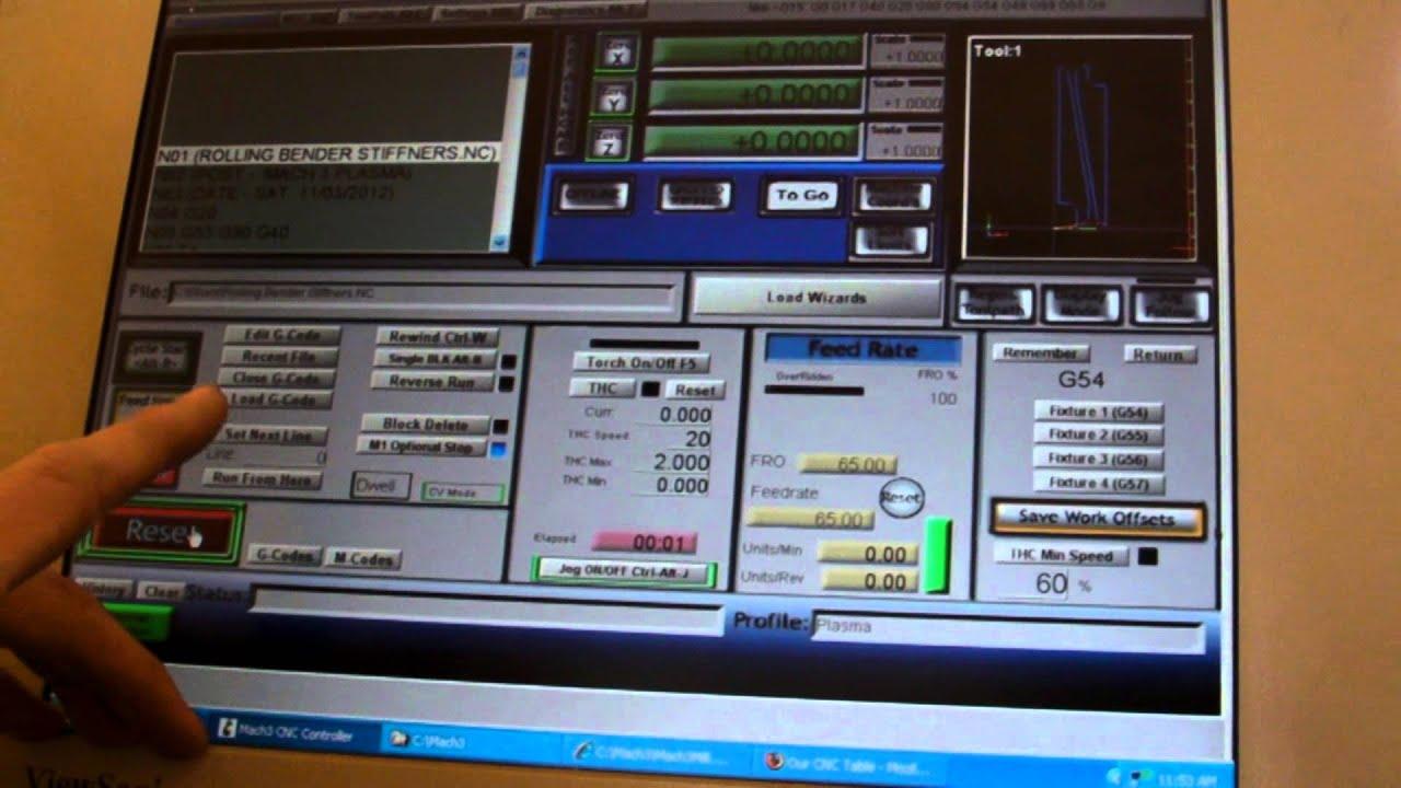 plasma cnc proma thc install mach3