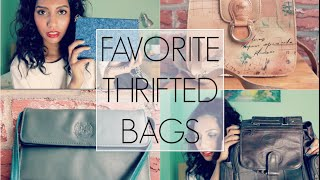 Favorite Thrifted Bags