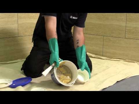 Mapei UK - How to mix and apply Kerapoxy CQ