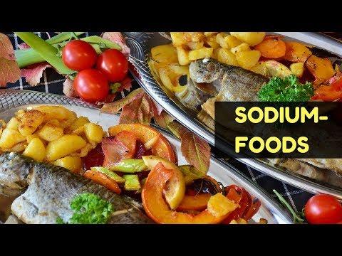 10 sodium foods