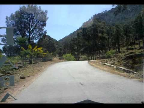 Azad kashmir road to Kotli