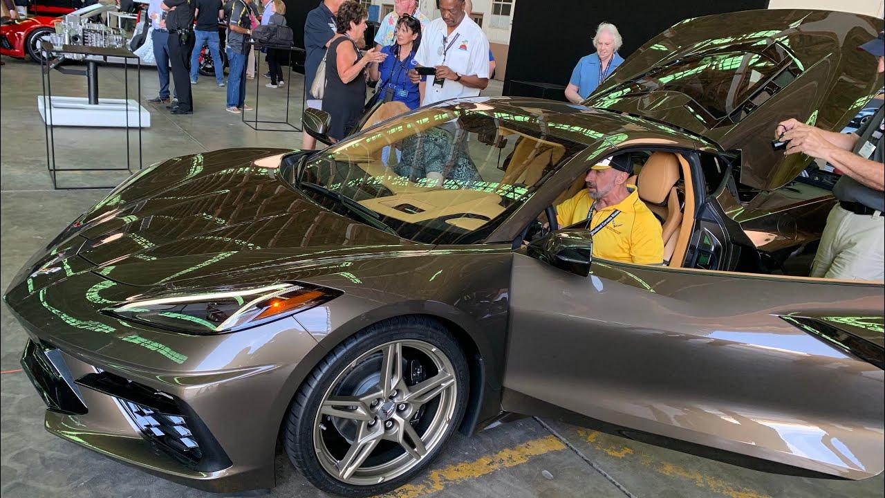 2020 Zeus Bronze C8 Corvette Mid Engine Corvette Youtube