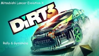 Video DiRT 3 - Mitsubishi Lancer Evolution X (Music Video) download MP3, 3GP, MP4, WEBM, AVI, FLV Desember 2017