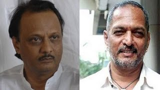 Nana Patekar Slams Ajit Pawar On Draught Speech !