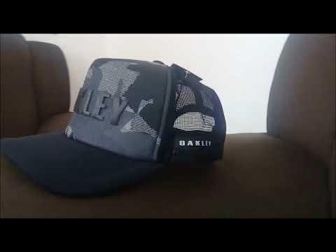 Boné Oakley Trucker promoção MERCADO LIVRE - YouTube f59618e9464