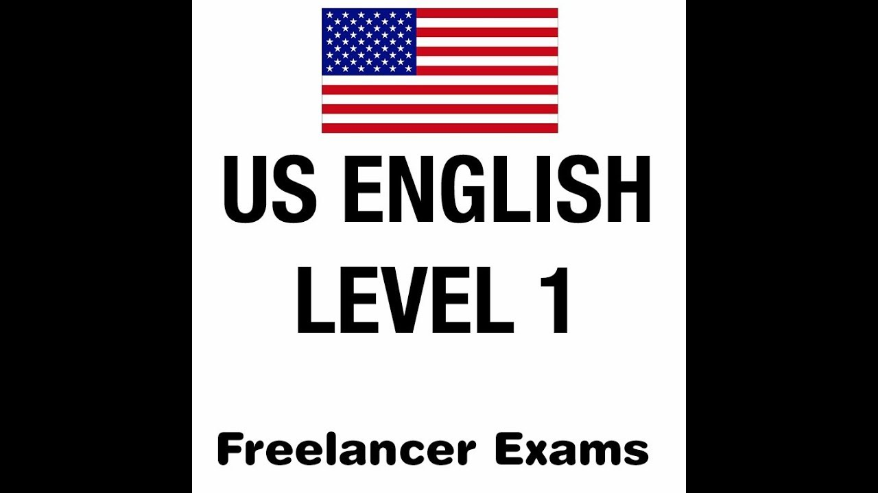 How to pass Freelancer.com USA English level-1 Exam in 5 minutes 2019
