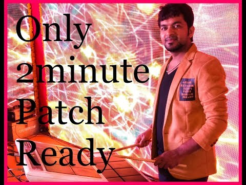 How To SPD-20 Patch Making  2 Minutes Only  By Santosh Gupta