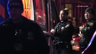NYPD Calls for Backup for Violent EDP