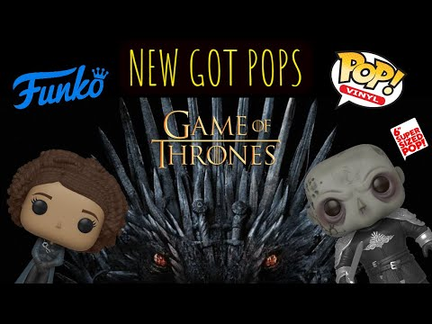 Game Of Thrones Funko Pop Unboxing: Missandei And The Mountain!