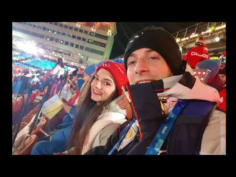 Closing Olympic ceremony 2018 PyeongChang Moris Kvitelashvil