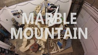 Marble Mountain (teaser version), a themed marble machine