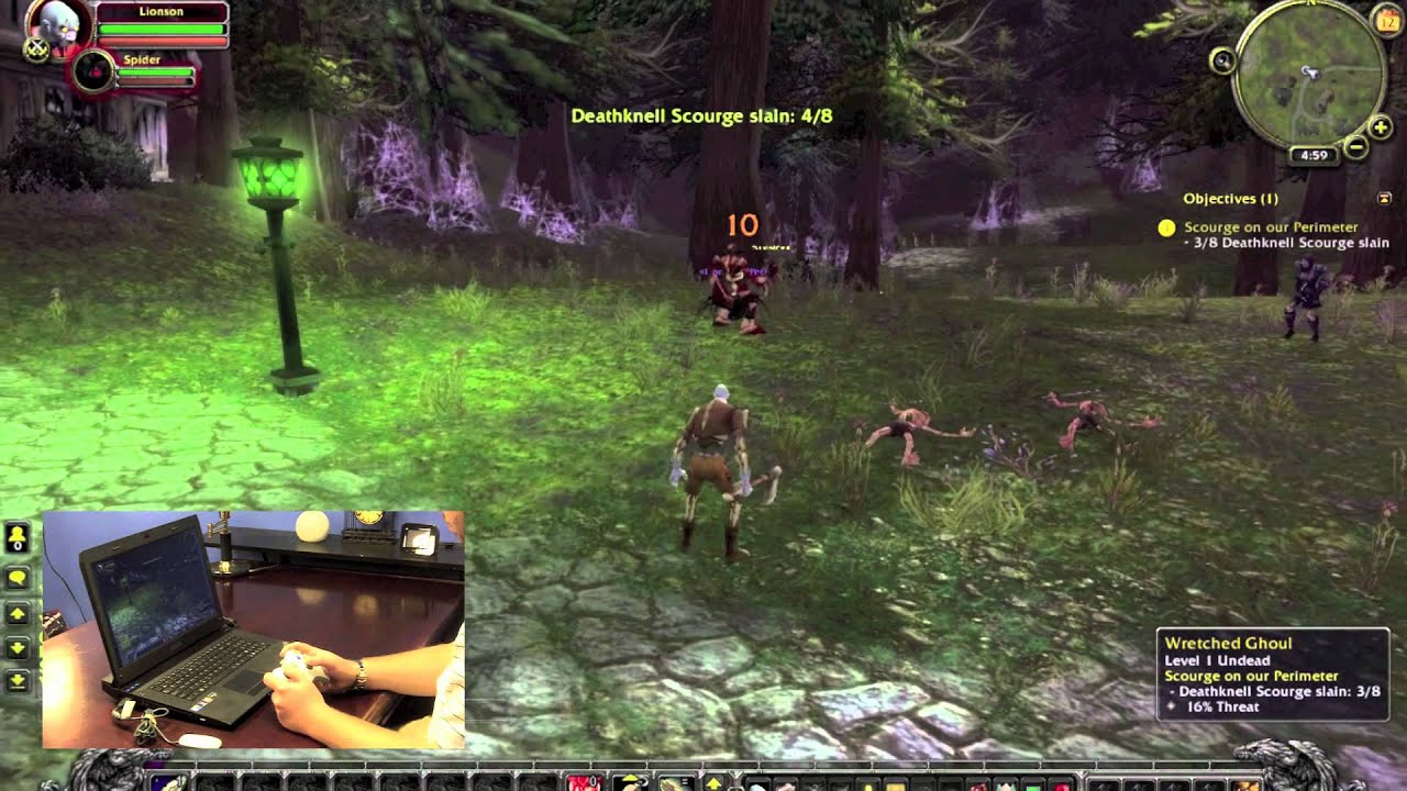 How To Play World Of Warcraft With An Xbox 360 Controller
