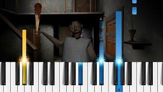 GRANNY (Horror Game) Piano Theme - Easy Tutorial