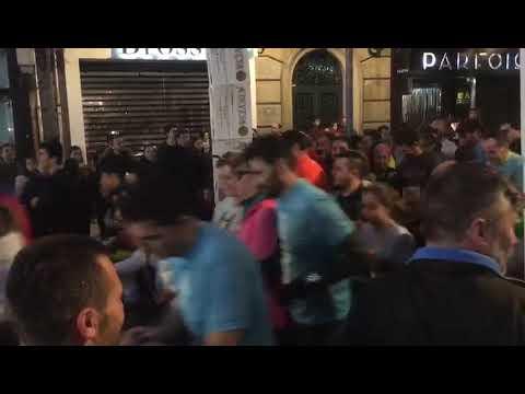 Más de mil personas participan en la Carrera de Nadal de Pontevedra