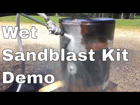 Power Eagle Wet Sand Blast Kit How To Save Money And Do