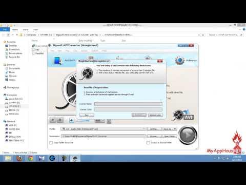 AVI Converter Free Download Full Version - Bigasoft AVI coverter - Version 3.7.43.4881