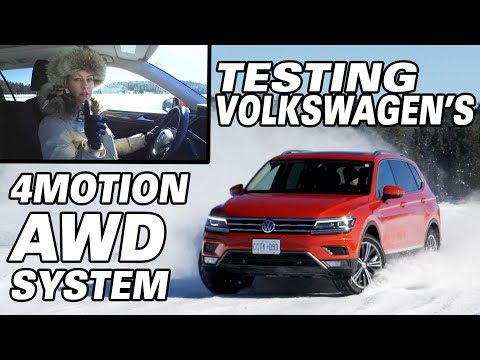 Testing Volkswagen's 4Motion AWD System