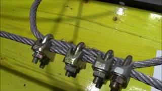 Drehmoment von Seilklemmen - cable clamps torque