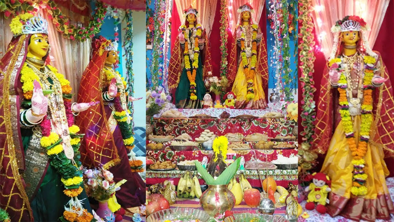 Decoration Ideas For Gauri Ganpati