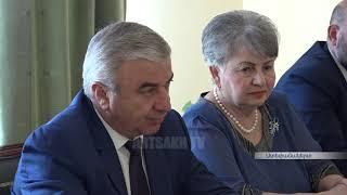 ԱԺ նախագահ Աշոտ Ղուլյանն ընդունել է սենատոր Էնթոնի Պորտանտինոյին
