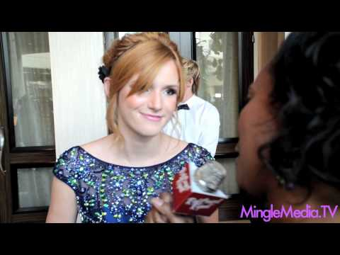 Bella Thorne @BellaThorne at the 27th Annual Imagen Awards Red Carpet Report Interview