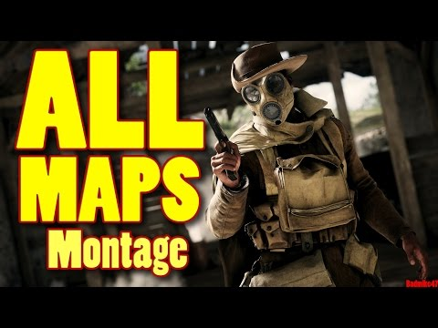 BATTLEFIELD 1 ALL MAPS Montage! (All New Multiplayer Maps Gameplay)