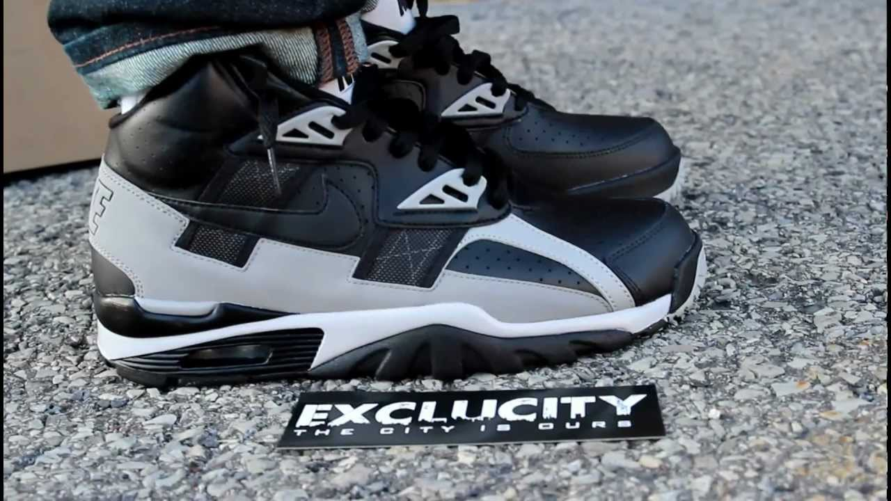 "Nike Air Trainer SC High ""Raiders"" On feet at Exclucity ..."