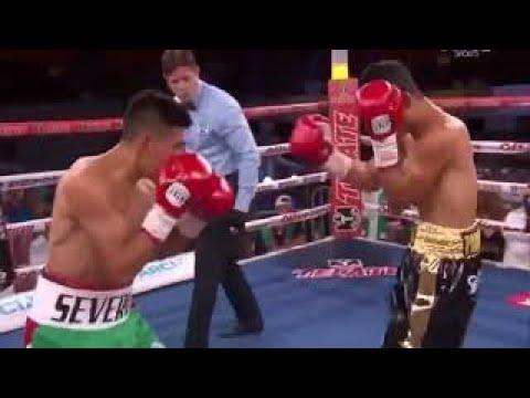Warlito Parrenas vs. David Carmona Interim WBO Super Flyweight Title
