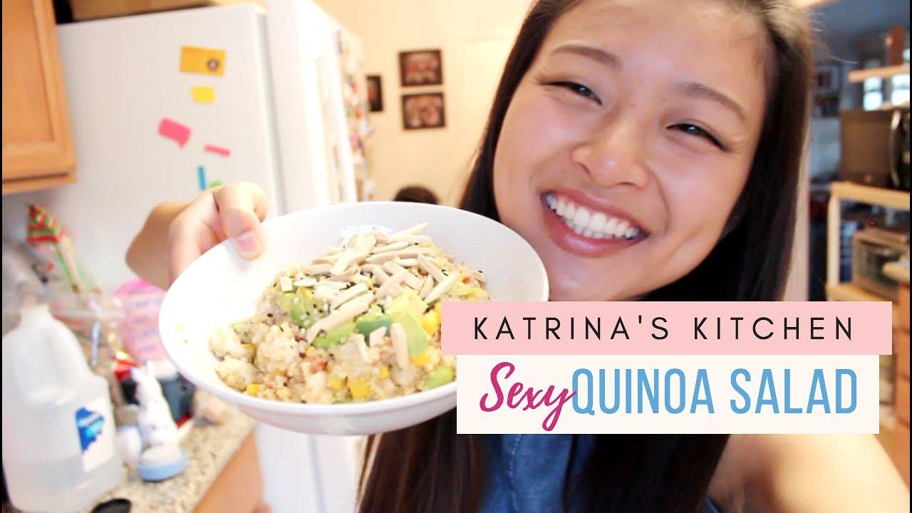 Katrina S Kitchen Sexy Quinoa Salad Youtube