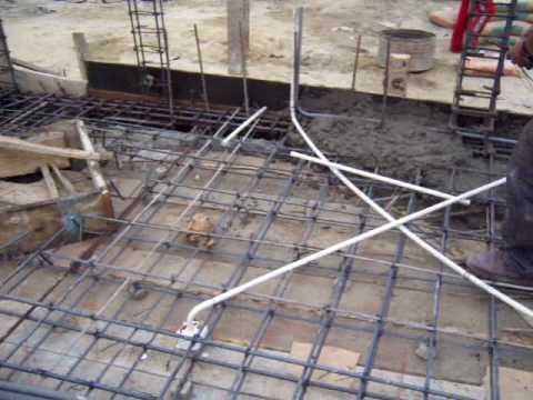 Losa1 armada de la cubierta cb letira youtube for Que necesito para construir una piscina